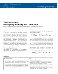 Russo Ratio cover page